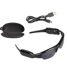 Black Mini DV/DVR Sunglasses Camera Video SPY Hidden Audio Sports Recorder 8GB