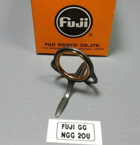 1pc Fuji Tackle NGG Gold Cermet Fishing Rod Guides Discontinued Choose Size