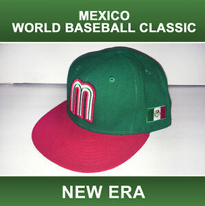 New Era 59Fifty Cap Mexico World Baseball Classic Fitted Hat Green ... 31a7dc18fcd