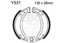 FIT YAMAHA T135 SE (1S71) Crypton X/J 06 08 EBC Plain Shoe Rear Left