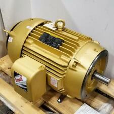 Baldor 40 Hp 1800 Rpm Tefc 460 Volts 324tscv Footless 3 Phase Motor 12h208y399g1