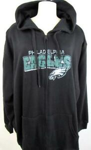huge discount 7e711 ab8a3 Philadelphia Eagles Plus Size Womens 2XL 3XL Full Zip Hooded ...