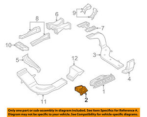 bmw oem 11 16 528i dash a c ac heater outer air vent outlet left rh ebay com BMW 535I Engine BMW 528I Engine Diagram