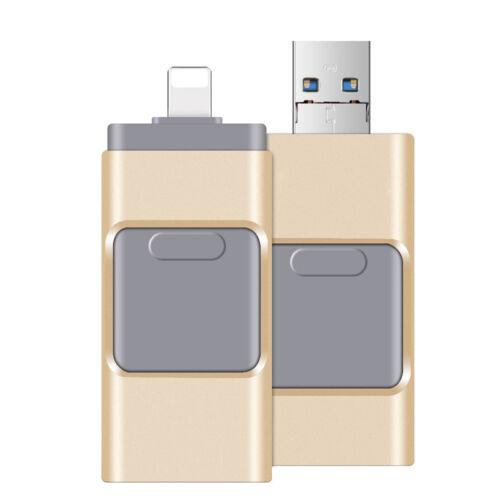 256GB Flash Drive USB 3.0 Memory Photo Stick OTG Pendrive For Andriod iPad PC