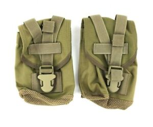 Set-of-2-Eagle-Industries-Canteen-General-Purpose-Pouch-Khaki-MOLLE-SFLCS