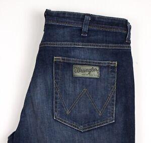 Wrangler Hommes ARIZONA STRETCH Jeans Jambe Droite Taille W38 L28 BDZ137
