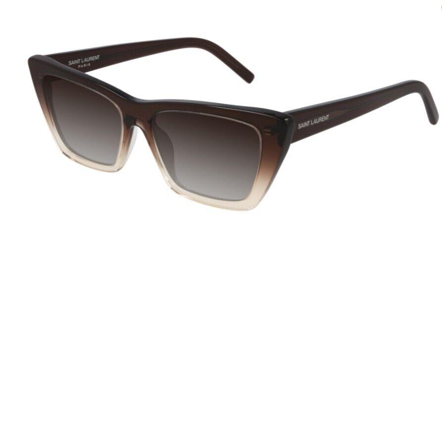SAINT LAURENT Sunglasses SL 276 MICA 019 Brown brown Woman