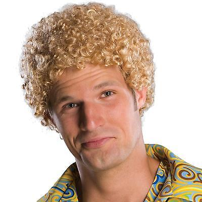 Adult 70s Disco Tight Fro Afro Costume Wig