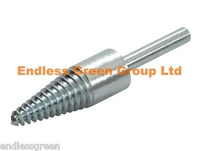 6mm Drill Pigtail -  to fit Sisal Cotton & Loose Leaf Polishing Wheels to drill