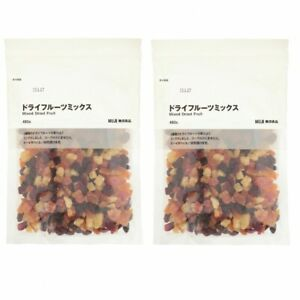 Details about MUJI Dry fruit mix 480g x2 5 kinds Yogurt Cake made Food snack