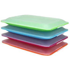 Aufschnittboxen-Frischhaltedosen-Kuehlschrank-Vorratsdose-Stapelbar-Aufschnittbox