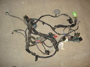 2000 jeep wrangler tj under dash wiring harness 4.0 | ebay 2000 jeep wiring harness la radio 2000 jeep wiring harness diagram