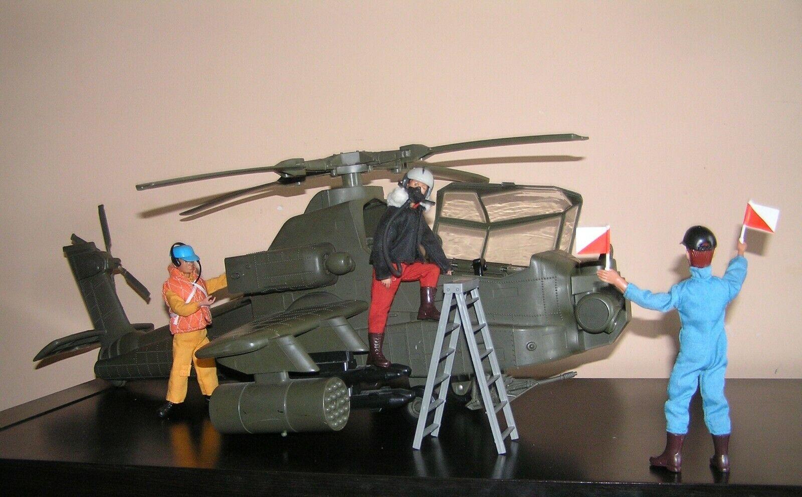 Madelman mde. Helicoptero militar de combate. Ejército del Aire