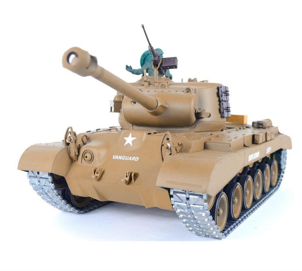 barato en línea 1:16 US M26 Pershing Snow Leopard RC RC RC Tanque Pro 2.4GHz Metal Gear & pistas Nuevo  tienda de descuento