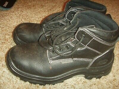 Sotavento Noreste Duplicación  Skechers Tarlac Black Steel Toe EH Puncture Resistant Work Boot 77143W Mens  11W | eBay