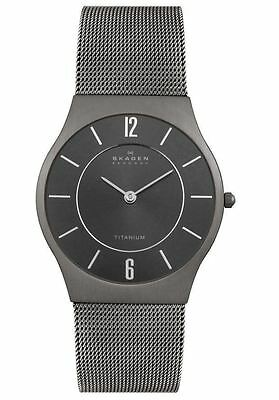 Skagen Men's Titanium Mesh Watch 233LTTM