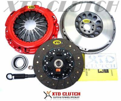 XTD STAGE 2 HD CLUTCH KIT /& CHROMOLY RACING FLYWHEEL KIT FOR 350Z G35 VQ35DE