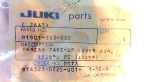 DLU-490 THREAD TAKE-UP LEVER ASM Original JUKI DLN-415 B1901-552-0C0