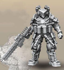 1-35-Resin-Science-fiction-Soldier-Robot-Gunner-Unpainted-Unassembled-BL651