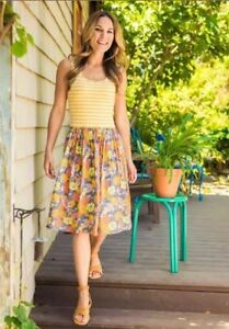 Matilda-Jane-Women-s-Summer-Sunset-Dress-Size-XS-S-M-L-XL-Adventure-Begins-New