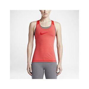 ea789bcc0409fd Nike Pro Cool Women s Training Tank Top Light Crimson Heather 725489 ...