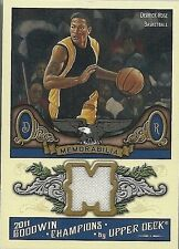 DERRICK ROSE 2011 UD GOODWIN CHAMPIONS GAME USED JERSEY