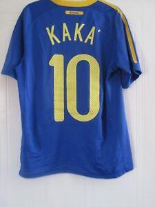 4bfdf77bad9 Brazil 2010-2011 Away Kaka 10 Football Shirt Size Small /43966 | eBay