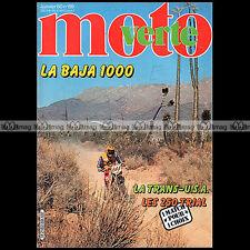 MOTO VERTE N°69 BULTACO 250 SHERPA MONTESA 247 FANTIC 200 TRIAL BAJA 1000 1982