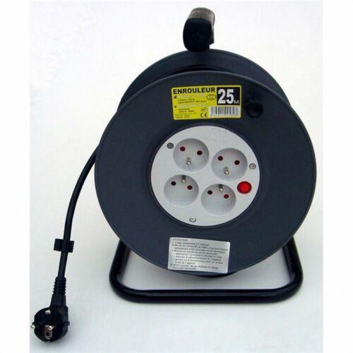 Enrouleur électrique HO5VVF 4 prises