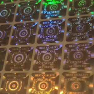 Hologramm Aufkleber Warranty Void ob Entfernt Manipulationssicher Aufkleber