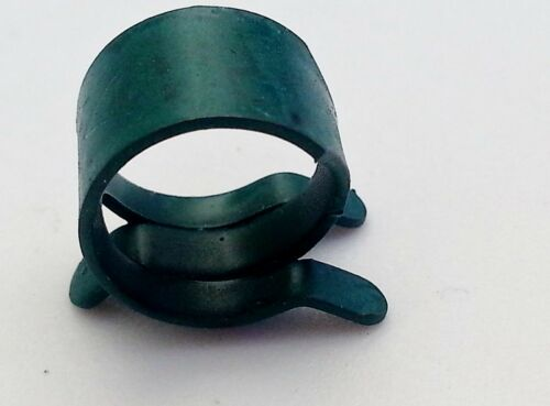 "Oldsmobile 7//16/"" .44 Gas Hose Green Pinch Spring Clip Clamp Fuel Pump Sender NOS"