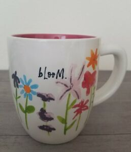 BRAND-NEW-RAE-DUNN-By-Magenta-BLOOM-Flowers-Mug-Summer-Home-Dining-Decor