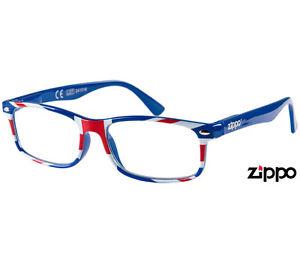 5187a69cab0 ZIPPO Unisex BRITANNIA-BLUE Reading Glasses 31Z-UKA Strenght Avaible ...