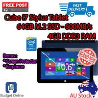 Cube I7 Stylus 10.6 Intel Core M 4gb 64gb + Screen Protector + Earphone Ozstock