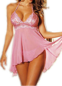Image Is Loading Intimates Women Sexy Intimate Intimates Pink Plus Thong