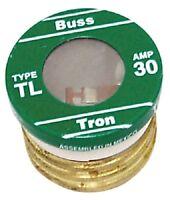 (12) Buss Tl-30pk4 4pk 30a Time Delay Type Tl Plug Fuses