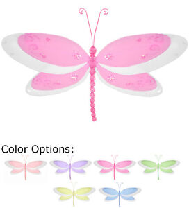 Beau Image Is Loading Dragonfly Baby Shower Decor Hanging Birthday Party Nursery