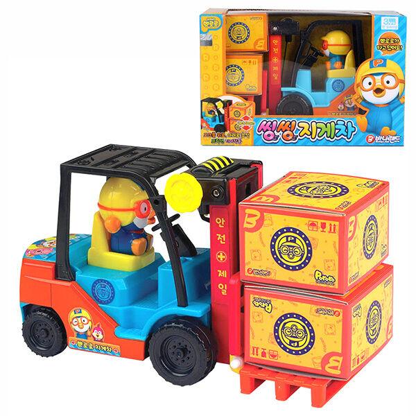 Pororo Forklift Truck Tv Animation Figura Juguete