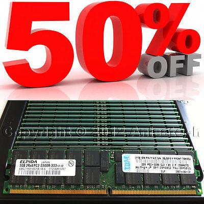 4GB 2x 2gb PC2-3200R DDR2 Dell Precision Workstation 670 670N ECC Memory RAM