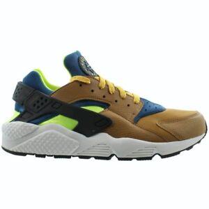 Nike Air About 701 Details 318429 Green Brownteam Bluevolt Running Huarache Shoes Desert wPiOkXZuT