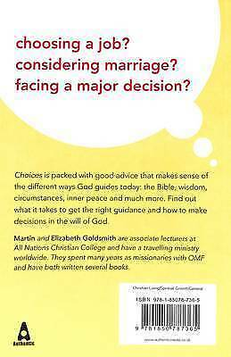 (Very Good)-Choices: Learning to Hear God's Voice (Paperback)-Goldsmith, Elizabe