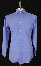 PURPLE LABEL Ralph Lauren ASTON Collar Dress Shirt Sz 15 MEDIUM NWT MSRP $695