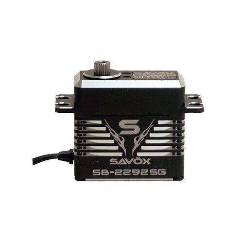Savox SB-2292SG Montruo Desempeño sin Escobillas Servo Negro Edición