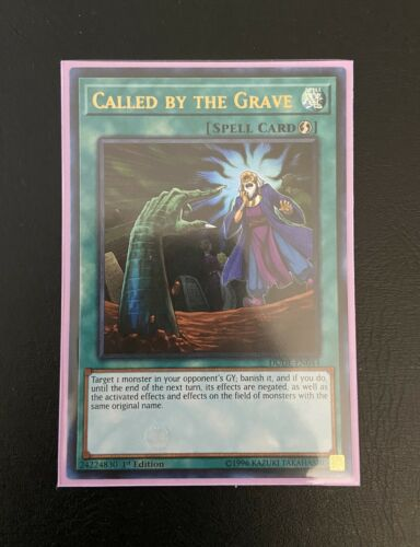 YUGIOH Call by the Grave 1st Edition Ultra Rare DUDE-EN044 NM