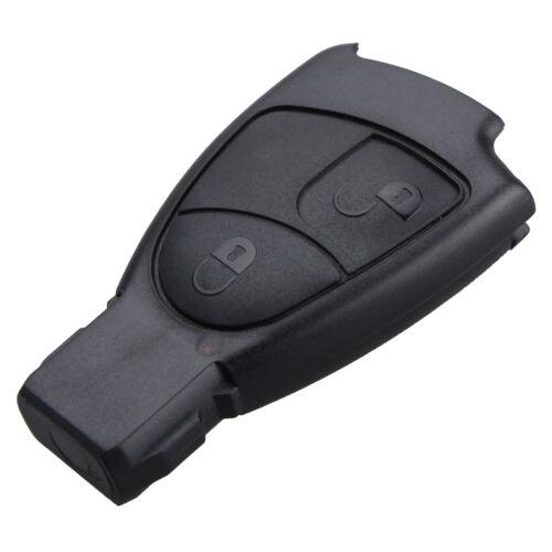 2 Button Remote Key Fob Case For Mercedes Benz C E ML S CLK Class