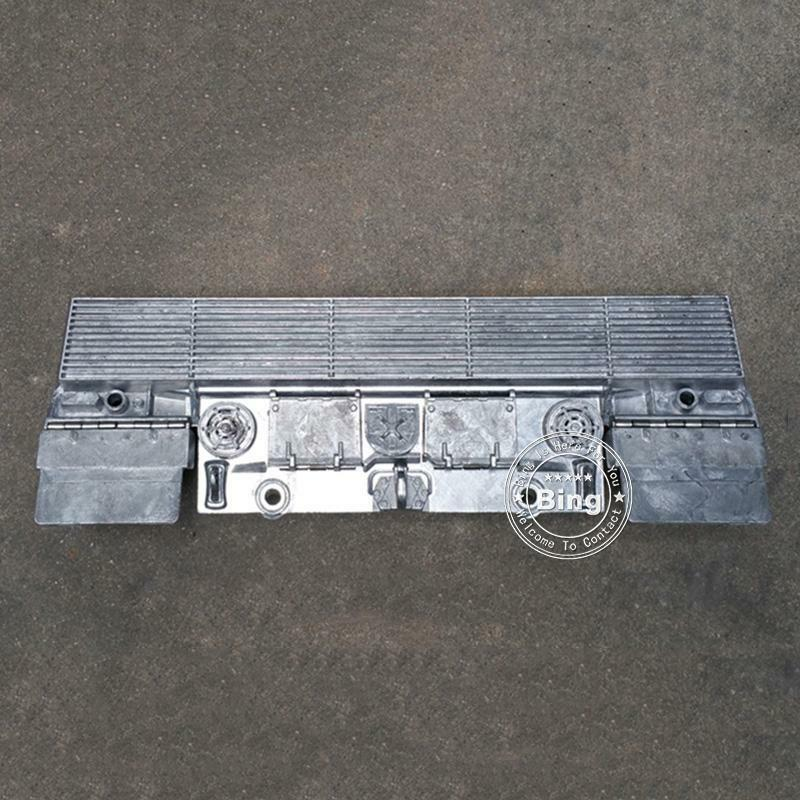 Metal Color 1/16 Scale German Leopard2a6 RC Tank Full Metal Rear Plate Only