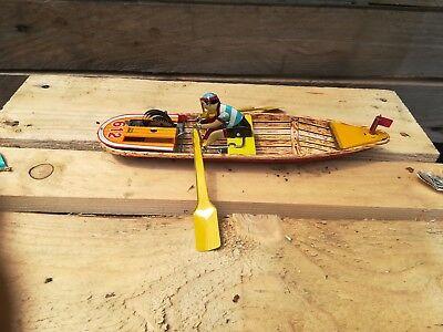 Canoa QualitäTswaren Blechspielzeug Flight Tracker '90s Edition Paya Repro Tin Toy Blechspielzeug Mechanisch Helycopter