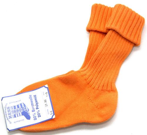 Hess Enfants Chaussettes Coton Tricote Lavable à haute température longue Hiver Chaussettes Taille 27-34