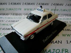 PUK4G-voiture-1-43-CORGI-ATLAS-POLICE-CARS-FORD-Escort-Mexico-Sussex