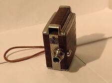Vintage Briskin 8mm Movie Camera scarce lens13mm/f 1.9 S/N 15713 winds & runs! 8